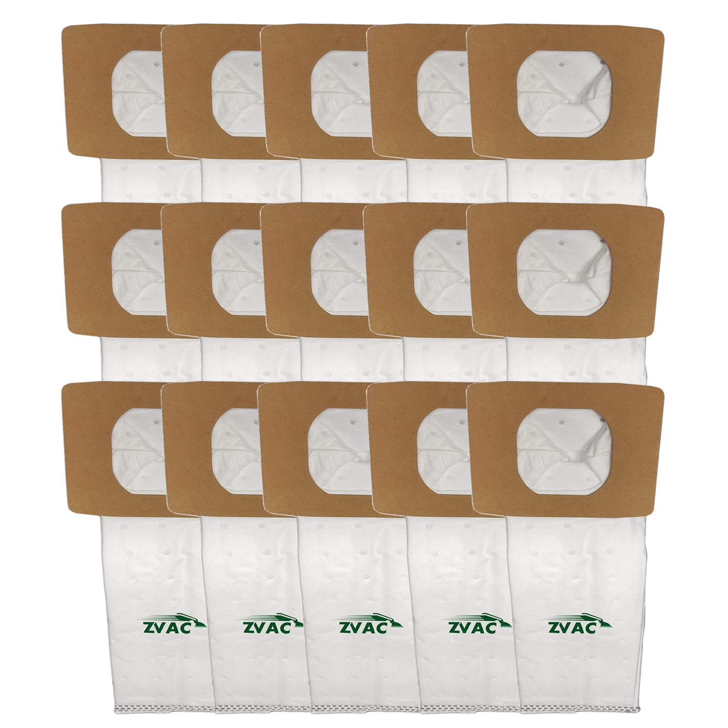 ZVac 15Pk Compatible Vacuum Bags Replacement for Hoover I Vacuum Bags.Replaces Part# AH10005, 985059002.Fits: Lightweight Canister Model UH30010COM & Other Platinum Uprights and Canister Vacuums