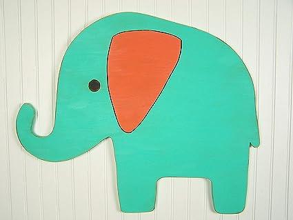Amazon Com Wood Elephant Wall Decor Elephant Gift Idea Elephant