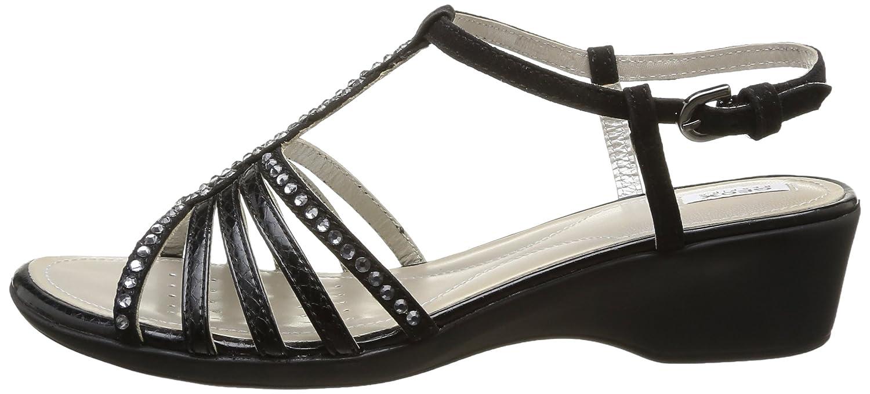 Geox D D Geox NEW CORAL D Damen Sneakers Schwarz (schwarzc9999) 77af81