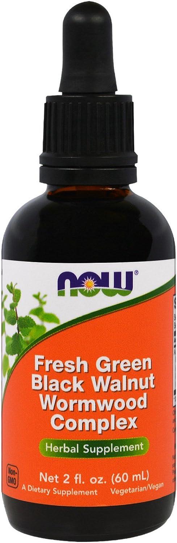 NOW Foods - Green Bla. Walnut Wormwood Cmp 2 fl oz (Pack of 2)