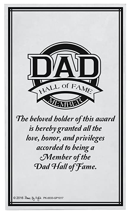 dad gifts for christmas dad hall of fame award dad decorative poetry award gift plaque glass