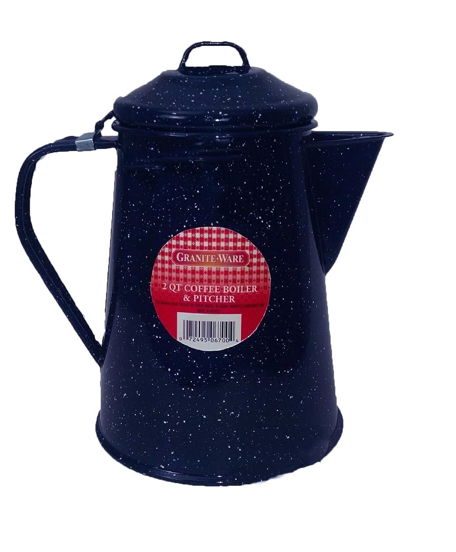 Granite Ware 221-4 Coffee Boiler/Pitcher, 2-Quart 0221-4