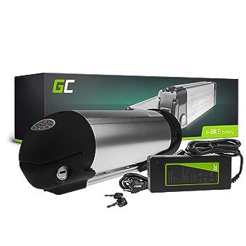 GC® Batería E-Bike 36V 11.6Ah Bicicleta Eléctrica Bottle Li-Ion con Celdas Panasonic y Cargador Kieler Manufaktur EELO Scott: Amazon.es: Electrónica
