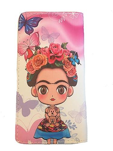 Amazon.com: Frida Inspired - Monedero para mujer, talla ...