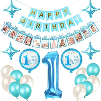 Baby Birthday Decor, 1er Birthday Decoraciones Primer ...