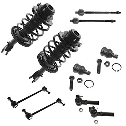 Amazon Com Front Steering Suspension Kit Set Of 10 Ball Joints