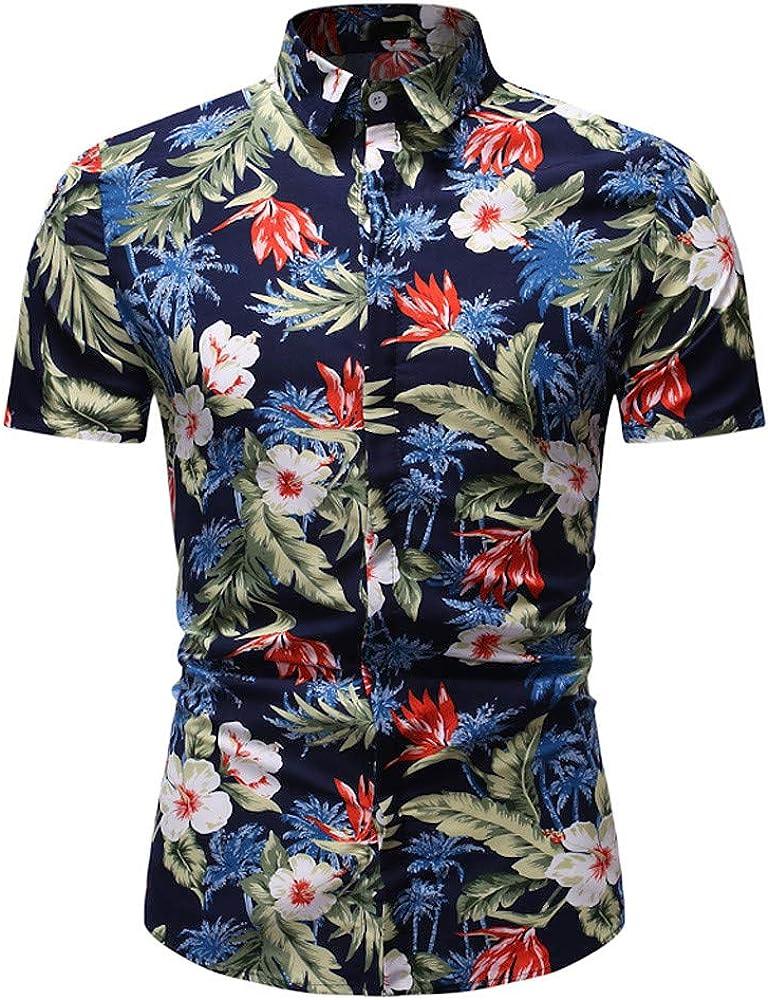 Generic Mens Leisure Short Sleeve Letter Print Pattern Regular Fit Jersey T-Shirt