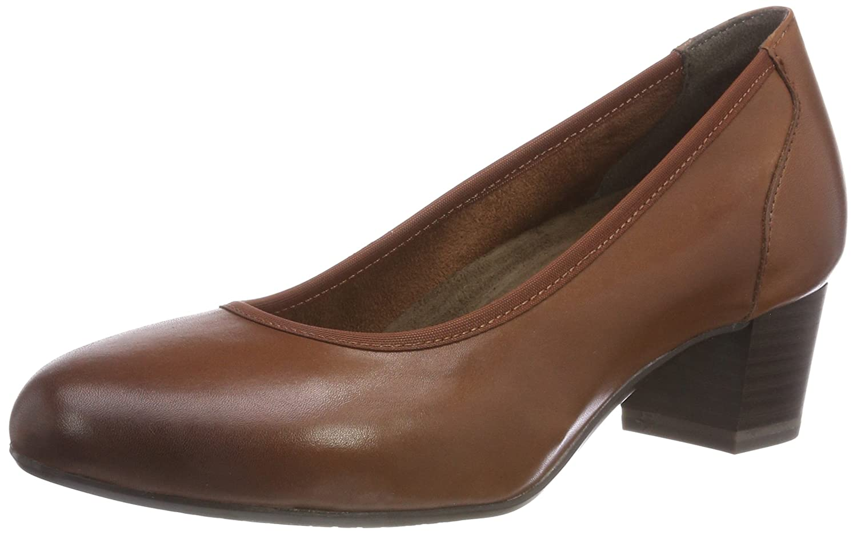 Tamaris 22301, Zapatos de Tacón para Mujer 39 EU|Marrón (Cognac 305)