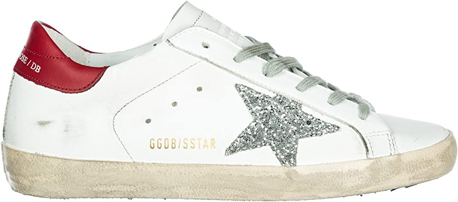 Golden Goose Chaussures Baskets Sneakers Femme en Cuir