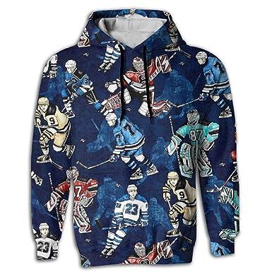 4e696d860 Amazon.com: Cjhxqt Ice Hockey Designer Hoodies For Men Hoodies Pullover  Hoodie Design Sweatshirts For Men: Clothing