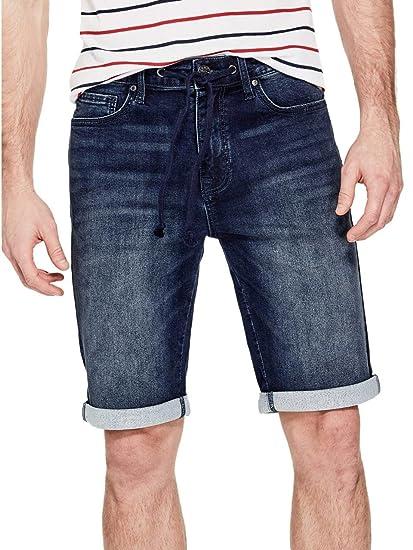 GUESS Factory Mens Troy Denim Shorts at Amazon Mens ...