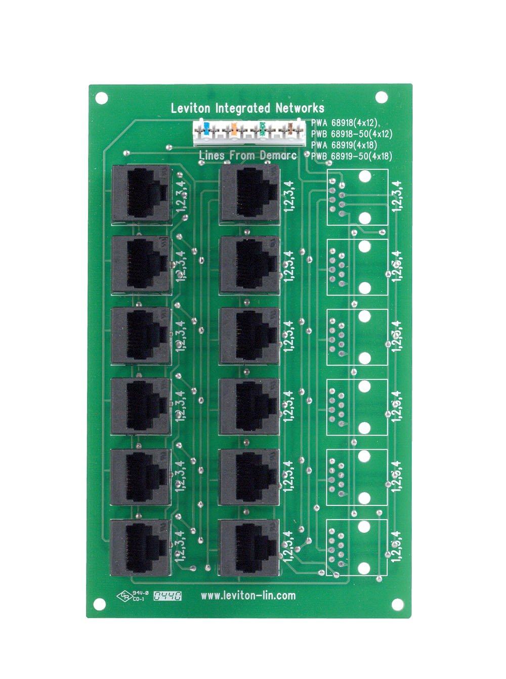 71k3AH2GhmL._SL1342_ amazon com leviton 47603 12b 4x12 telephone distribution board  at edmiracle.co