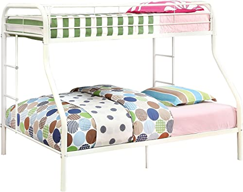 Furniture of America Non-Recycled Metal Bunk Bed