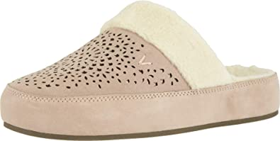 Amazon Com Vionic Women S Sublime Leona Mule Slipper Ladies Comfortable House Slippers With Concealed Orthotic Arch Support Slippers