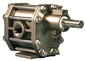 Oberdorfer Pumps - S93516CA - 1-1/2 Intermediate-Duty 316 Stainless Steel Rotary Gear Pump Head, Pedestal Design, 150 psi