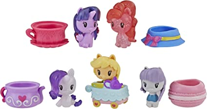 My Little Pony Toy Cutie Mark Crew Confetti Party Countdown Collectible 8 Pack with 14 Surprises