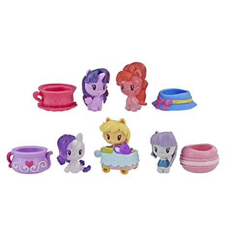 51abfaf9a4f Amazon.com  My Little Pony Cutie Mark Crew Series 3 You re Invited Tea  Party 5 Pack Toys  Toys   Games