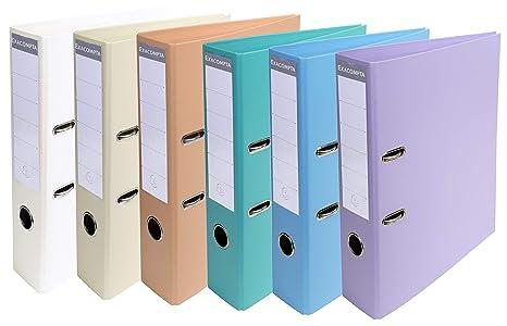 Exacompta 53084E - Archivador, A4, multicolor