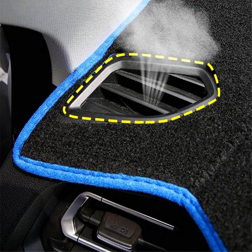 ZHAOHAOSC Auto-Armaturenbrett-Abdeckungs-Silikon rutschfest f/ür Chevrolet Cruze 2009 2010 2011 2012 2013 2014 Schlag-Matte Anti-UV Teppich DashMat