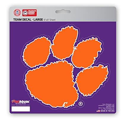 Sports Mem, Cards & Fan Shop Sticker *Free Shipping Clemson Tigers NCAA Color Die-Cut Decal