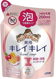 Kirei Kirei anti-bacterial foaming hand soap (fruit fiesta), 200ml