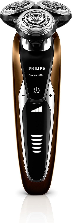 Philips S9511/31 - Afeitadora eléctrica, uso en seco y húmedo, con barbero y bolsa de viaje, color marrón y negro: Amazon.es: Salud y cuidado personal