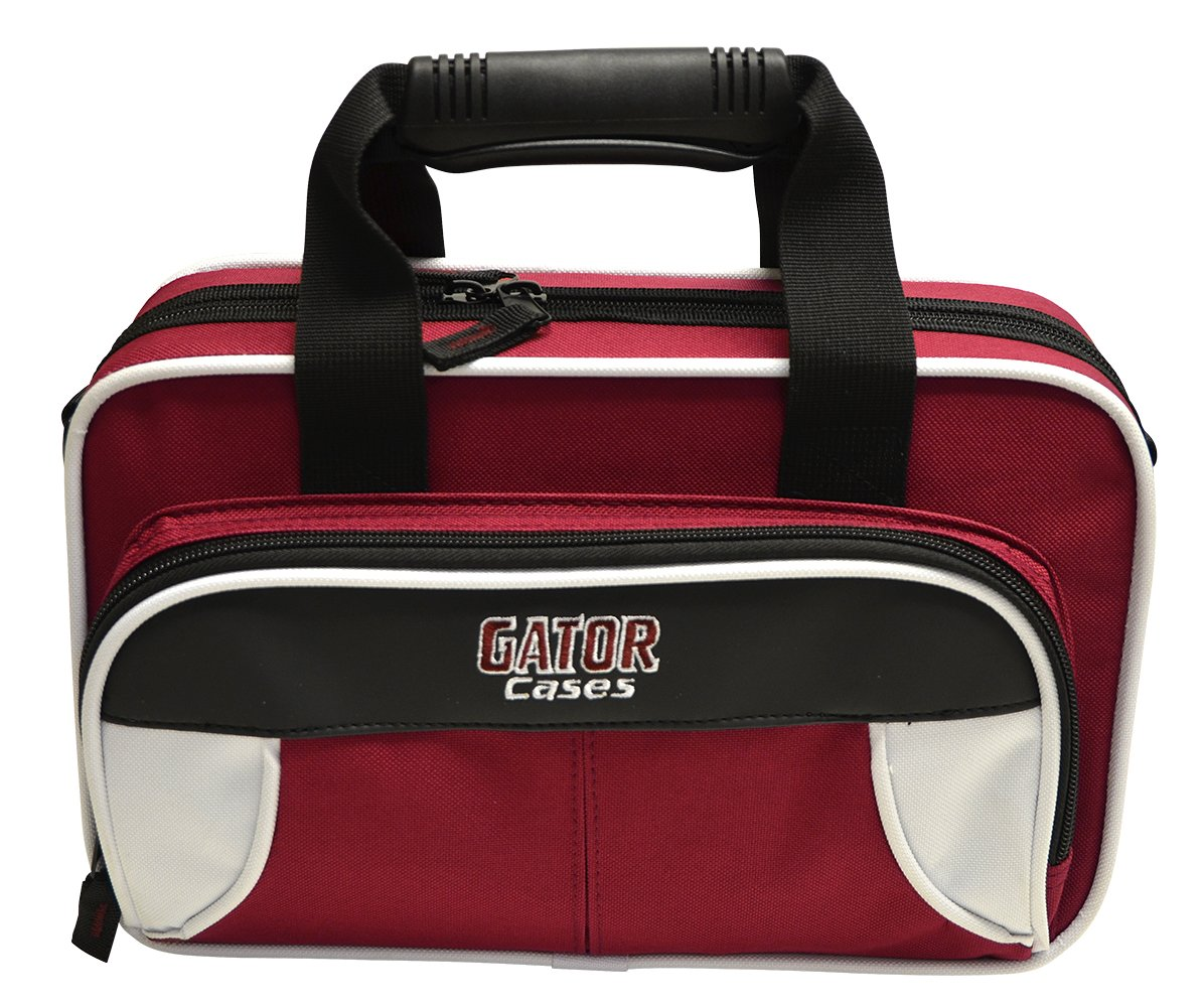 Gator GL-CLARINET-RB Lightweight Spirit Series Clarinet Case, Red and Blue Gator Cases