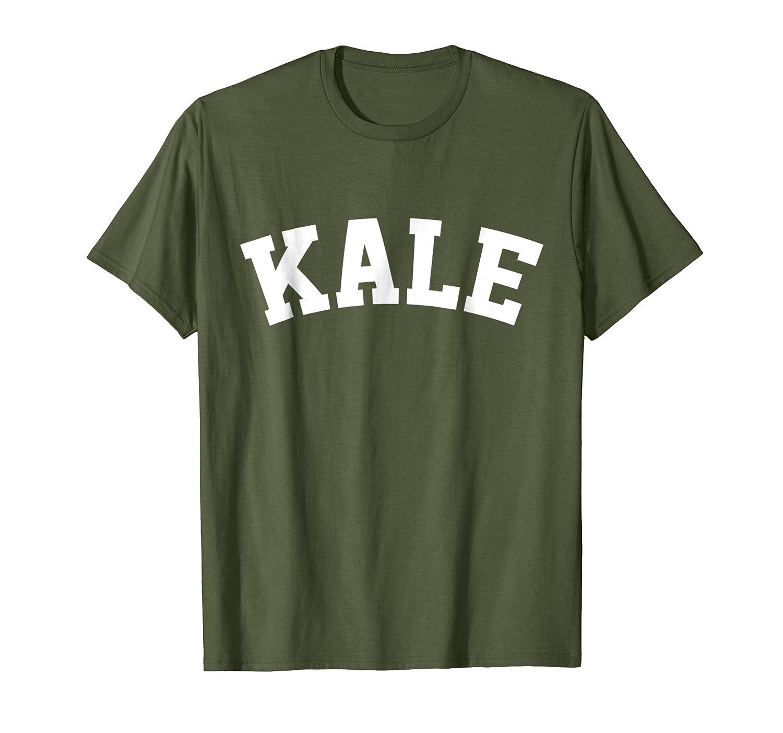 Retro Kale University Funny Vegan T-Shirt Tshirt Tee Shirt-ln