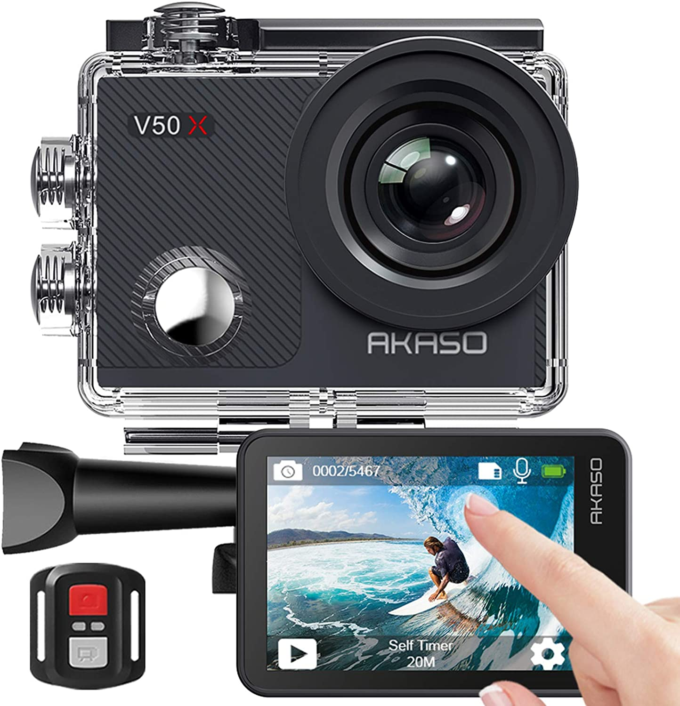Akaso Action Cam Underwater Camera 4k Wifi 40m Eis Camera Photo