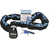 Oxford OF18Monster Chain with Padlock, 2.0m