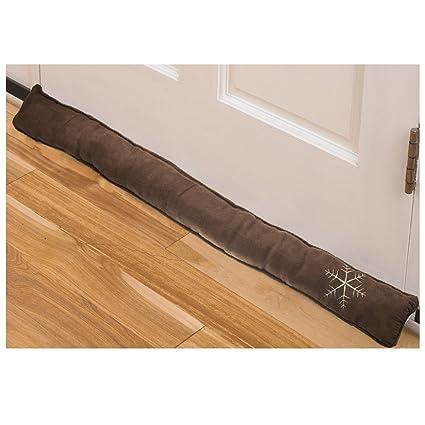 Simply Genius Door Draft Stopper 36u0026quot;: Draft Guard For Interior, Bottom  Of Doors