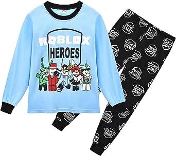 Pijama Chicos Conjuntos Invierno Otoño Navidad Navidad Pijamas Negro Rojo Pjs