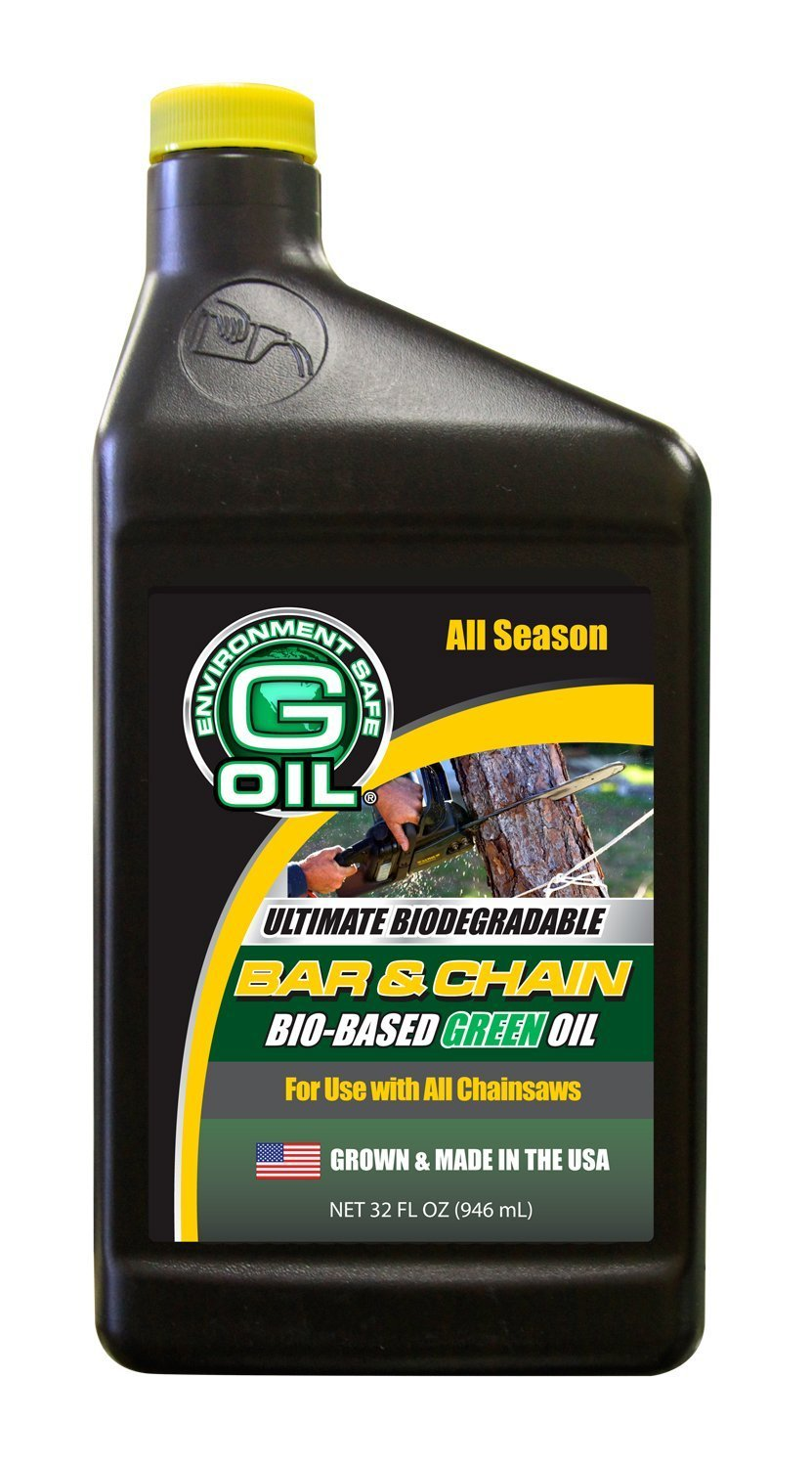 Green Earth Technologies 1121 Bar and Chain Green Oil - Case of 12/32 oz.