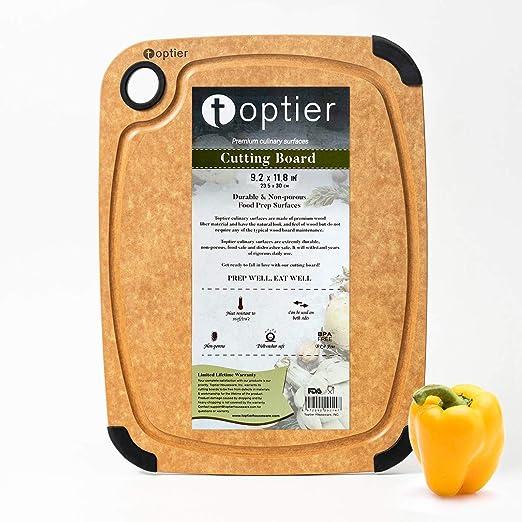 Glass Chopping Cutting Board Modern Kitchen Surface Sliced Orange 4
