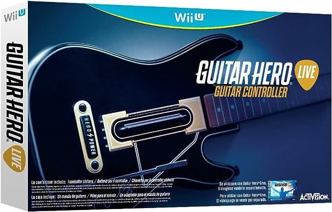 Activision - Guitarra Guitar Hero Live (Nintendo Wii U): Amazon.es ...