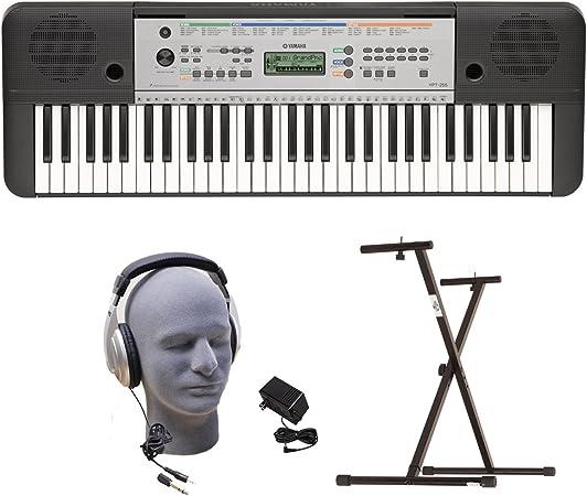 Yamaha YPT255 PKY 61-Key Premium teclado con auriculares ...