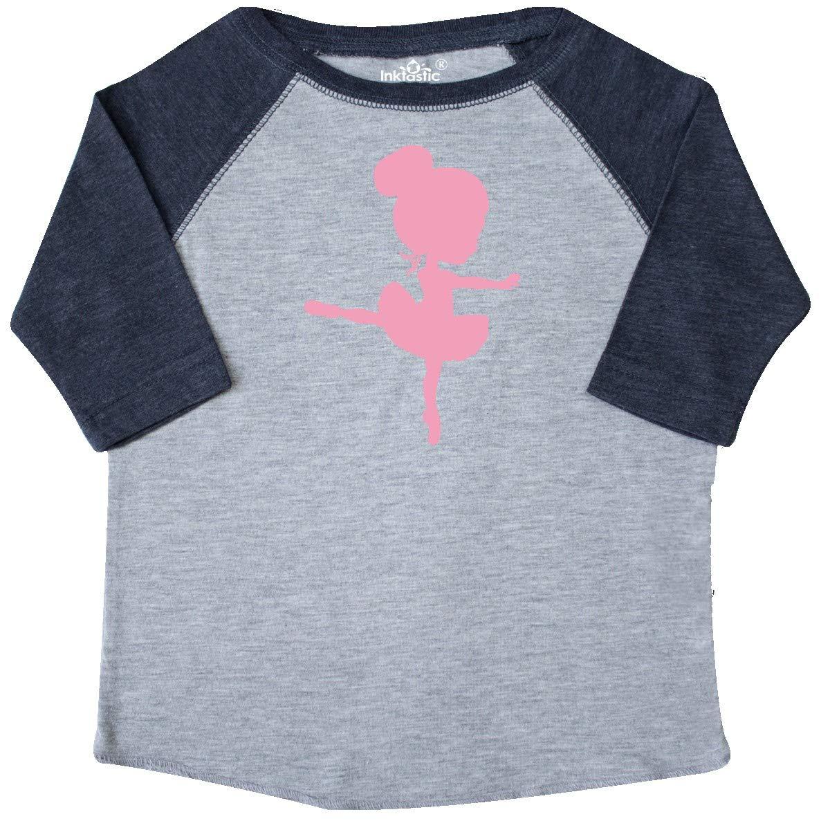 inktastic Cute Ballerina Toddler T-Shirt