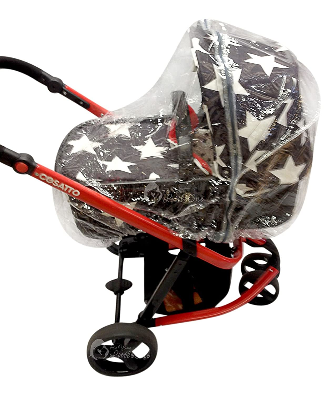 Raincover Compatible with Cosatto Giggle Carrycot For-Your-Little-One