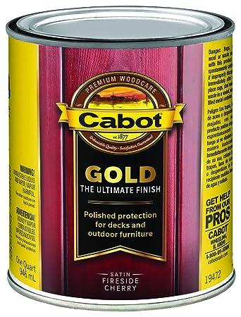 cabot gold low voc exterior stain amazon com