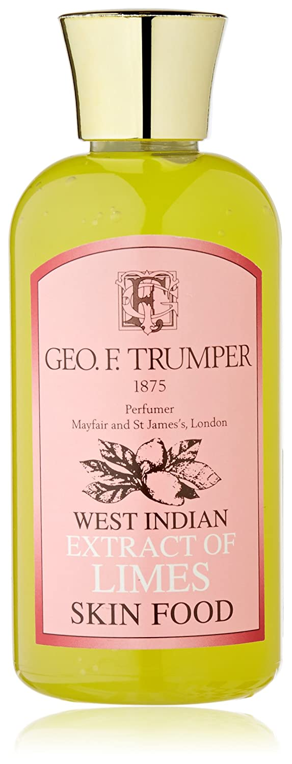 Geo F Trumper Extract of Limes Skin Food Pre and Post Shave Gel 100 ml W140213