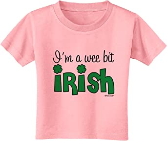 TooLoud Im A Wee Bit Irish Infant T-Shirt Dark