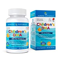 Nordic Naturals Children's DHA,Healthy Cognitive Development and Immune Function,250mg,360 Soft Gels