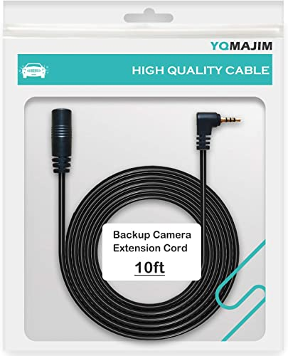 Dash Cam Extension Cable,2.5mm End 10 Ft Extension Cord for Dash Camera, Extend Camera Cable for Rear View Reverse Camera,Mirror Camera,Backup Camera Extension Cable 10ft