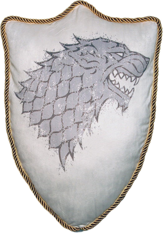 Factory Entertainment Game of Thrones House Stark Direwolf Sigil Throw Plush Pillow