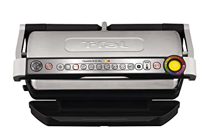 Amazon.com: T-fal GC722D53 1800W OptiGrill XL Stainless Steel Large ...