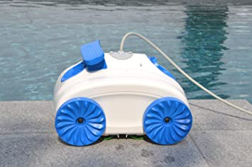 Limpiador automático de piscina WelaSol para piscinas pequeñas de hasta 1, 20 m de altura | robot de piscina | aspiradora de piscina | robot aspirador: ...