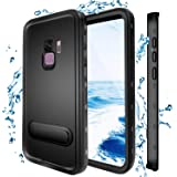 Samsung Galaxy S9 Waterproof Case, Shockproof Dustproof Snowproof Hard Shell Full-Body Underwater Protective Box Rugged…