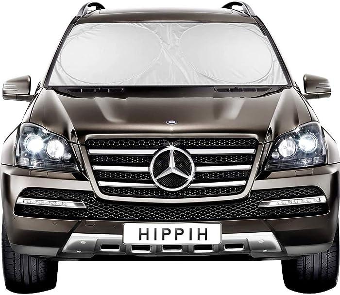 The Best Hippih Decor Car Windshield Sun Shade Medium