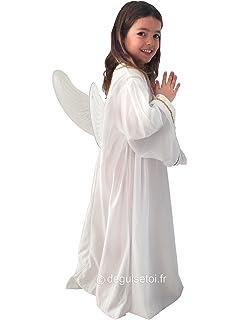 Guirca Disfraz infantil de ngel color blanco 34 aos 426070