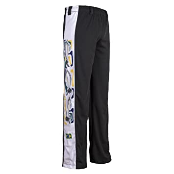 Unisex Blanco Berimbau Brasil Capoeira Artes Marciales Abada Elástico  Pantalones 5 Tallas  Amazon.es  Deportes y aire libre b4079f680dcb